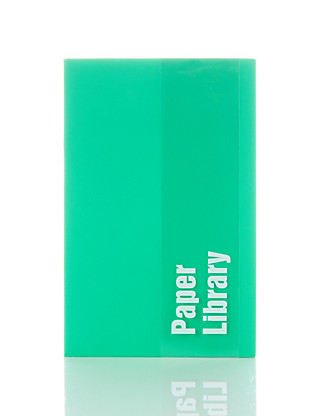 Vibrant Green Soft Touch A6 Notebook Home