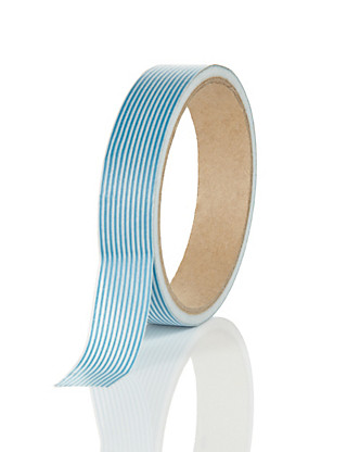 Large Blue Printed Tape Home