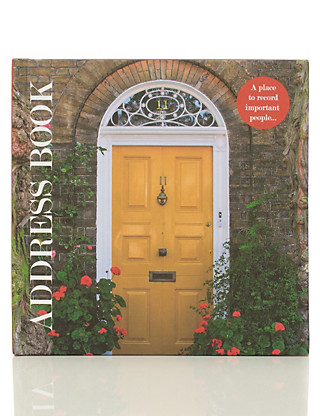 Photographic Address Book Home