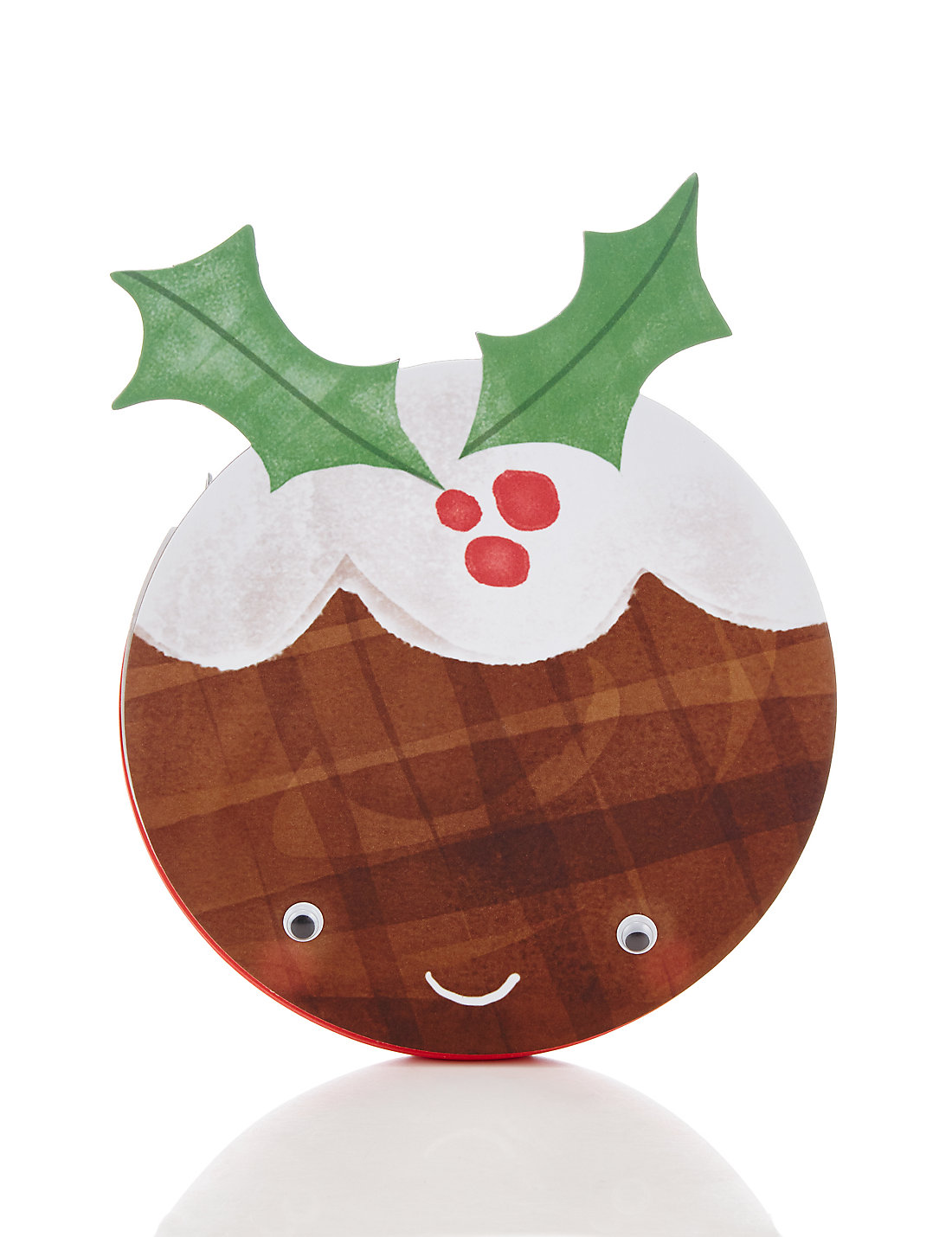 Fun Christmas Pudding Notebook