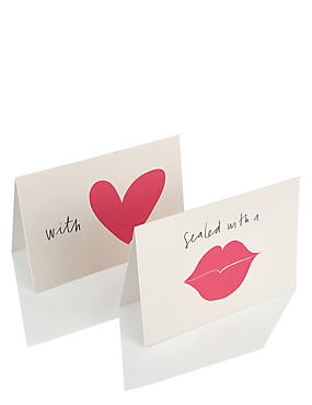 10 With Love Multipack Notecards, , catlanding
