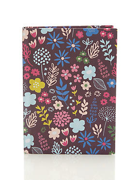 Fresh Floral A7 Notebook