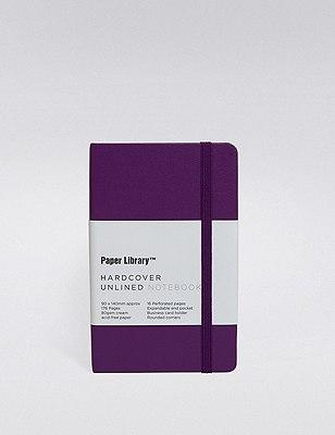 Pippa Purple Hardcover A6 Notebook , , catlanding