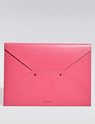 Pink A4 Envelope Folder, , catlanding