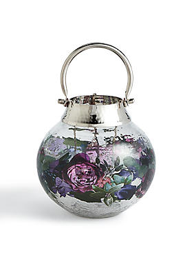 Winter Floral Lantern, , catlanding