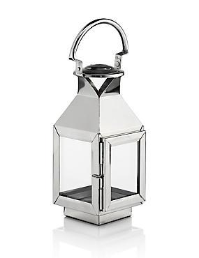 Small Classic Lantern, SILVER, catlanding