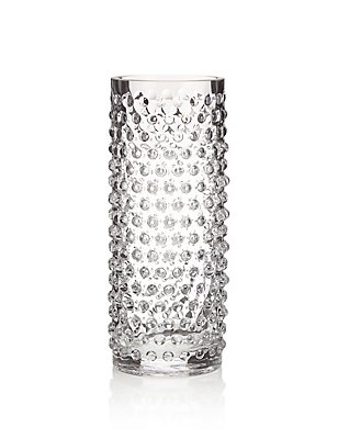 Hobnail Cylinder Vase, , catlanding