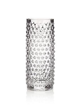 Vase cylindrique à détail clouté, , catlanding