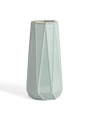 Loft Gold Trim Vase, , catlanding