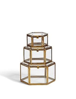 Set of 3 Trinket Boxes, , catlanding