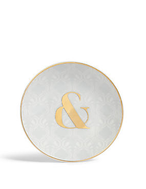 ABC & Ampersand Trinket Tray, , catlanding