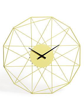 Loft Wall Clock, , catlanding