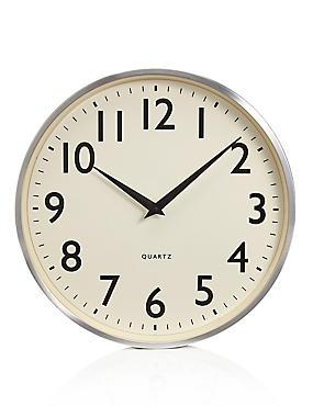Bold Arabic Wal Clock, , catlanding