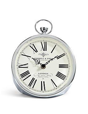 Fob Mantel Clock, , catlanding