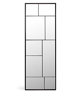 Metal Frame Floor Length Mirror, , catlanding