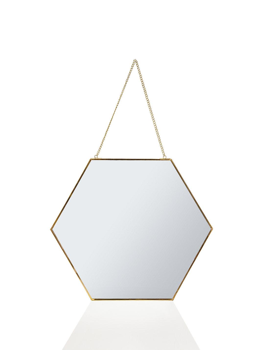 Hexagonal Mirror Frame