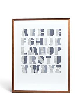 Conran A-Z Letters Wall Art, , catlanding