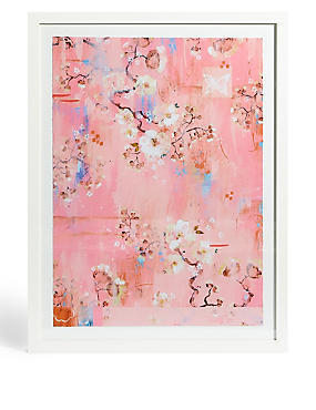 Cherry Blossom Wall Art, , catlanding