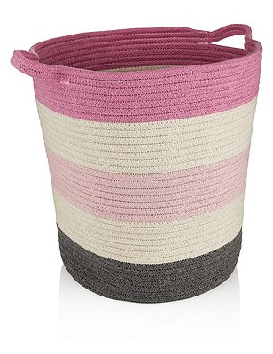 Storage Basket, PINK MIX, catlanding