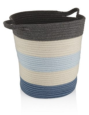 Storage Basket, BLUE MIX, catlanding