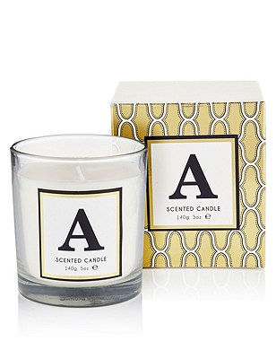 Alphabet A Scented Candle, , catlanding
