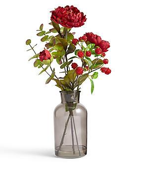 Composition florale de pivoines, , catlanding