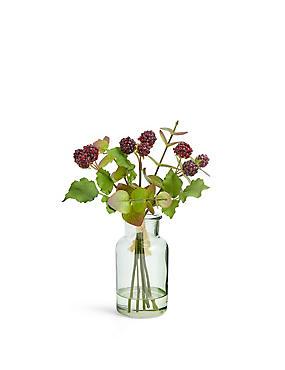 Eucalyptus & Blackberry Vase, , catlanding