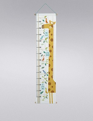 Giraffe Height Chart Wall Art, , catlanding