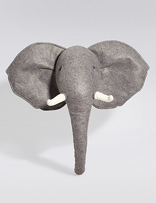 3D Elephant Wall Art, , catlanding