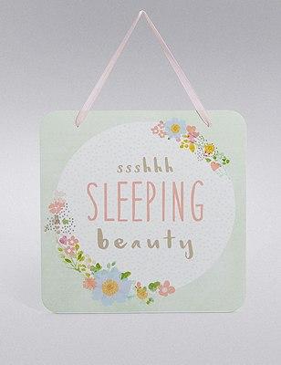 Sleeping Beauty Plaque, , catlanding