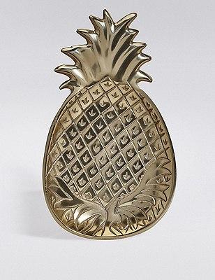 Pineapple Paradise Plate, , catlanding