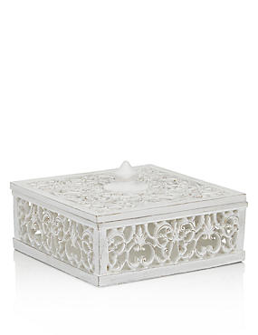 Carved Trinket Box