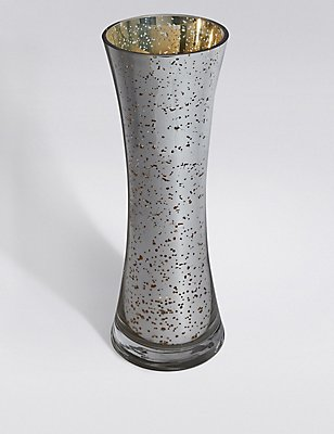 Mercury Lily Tall Vase, , catlanding