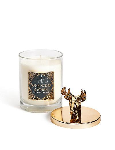 Frankincense & Myrrh Lidded Filled Candle   M&S