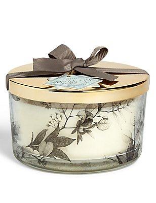 Neroli, Lime & Basil 3 Wick Gift Candle, , catlanding