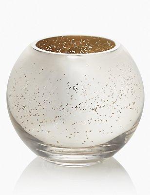 Mercury Finish Fish Bowl Vase, , catlanding