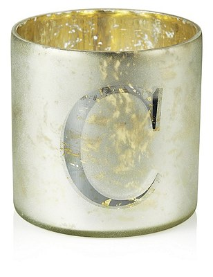 Mercury Glass Votive C Tealight Holder, , catlanding
