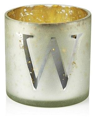 Mercury Glass Votive W Tealight Holder, , catlanding