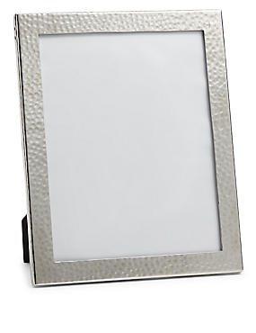 Hammered Metal Photo Frame 20 x 25cm (8 x 10inch), , catlanding