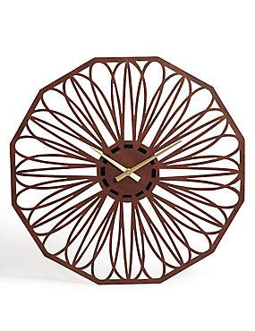 Petal Wall Clock, , catlanding