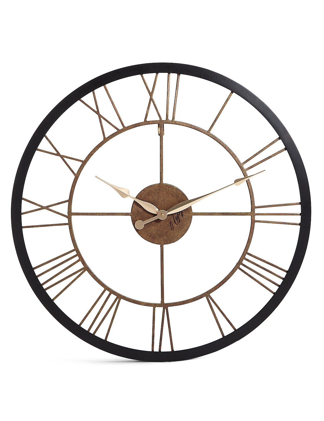 Mirrors wall art clocks for your home ms rustic wall clock amipublicfo Choice Image