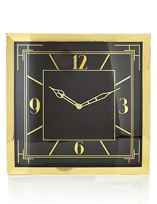 Charleston Mantel Clock, , catlanding