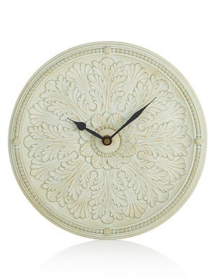 Embossed Plate Clock, , catlanding