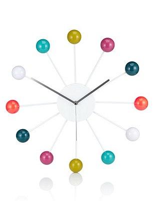 Bobble Wall Clock, , catlanding