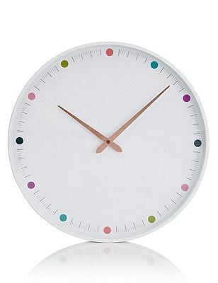 Multispot Wall Clock, , catlanding