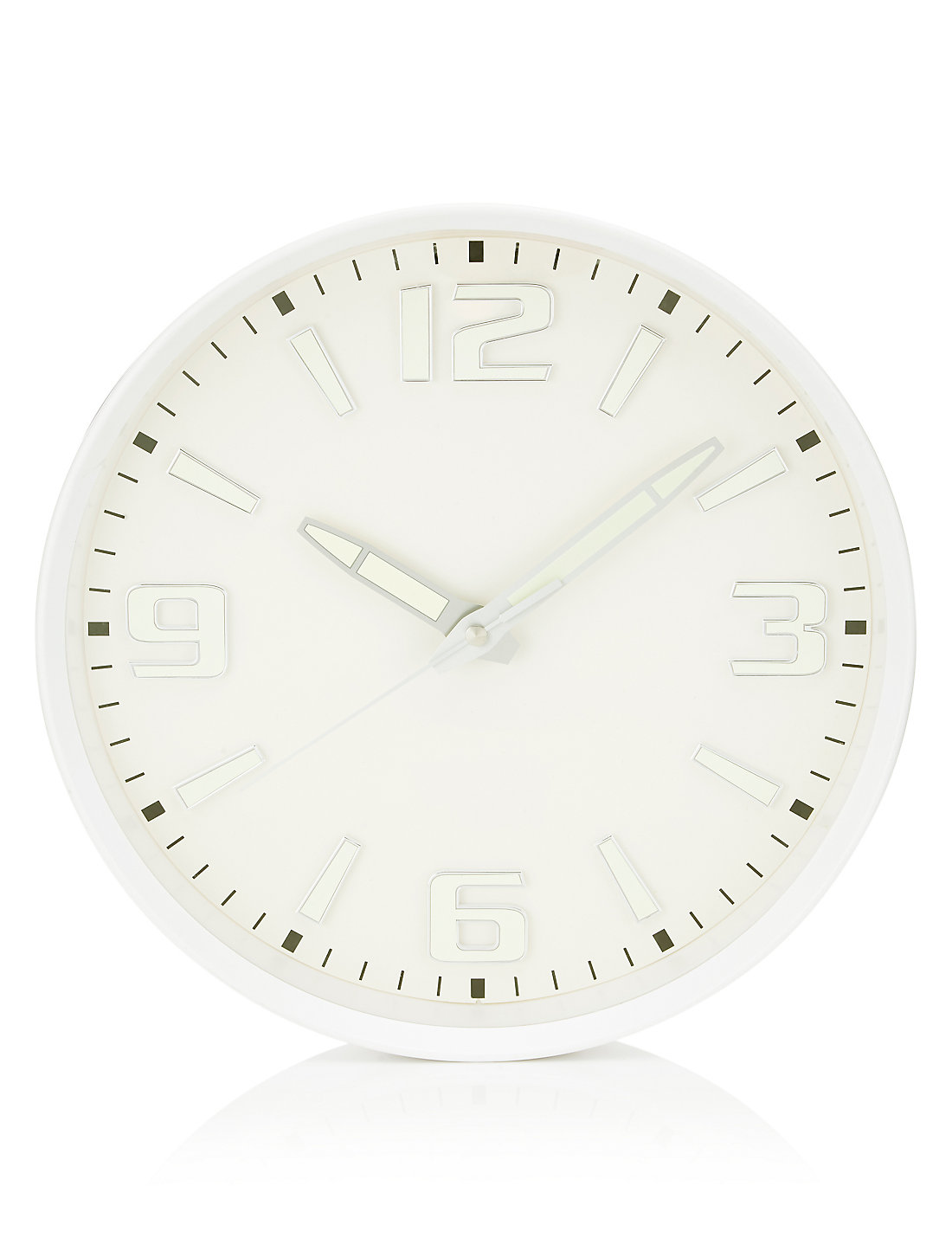 Glow in the dark wall clock ms glow in the dark wall clock amipublicfo Images