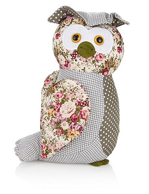 Olga Owl Doorstop, , catlanding