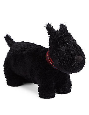 Hamish Scottie Doorstop, BLACK, catlanding