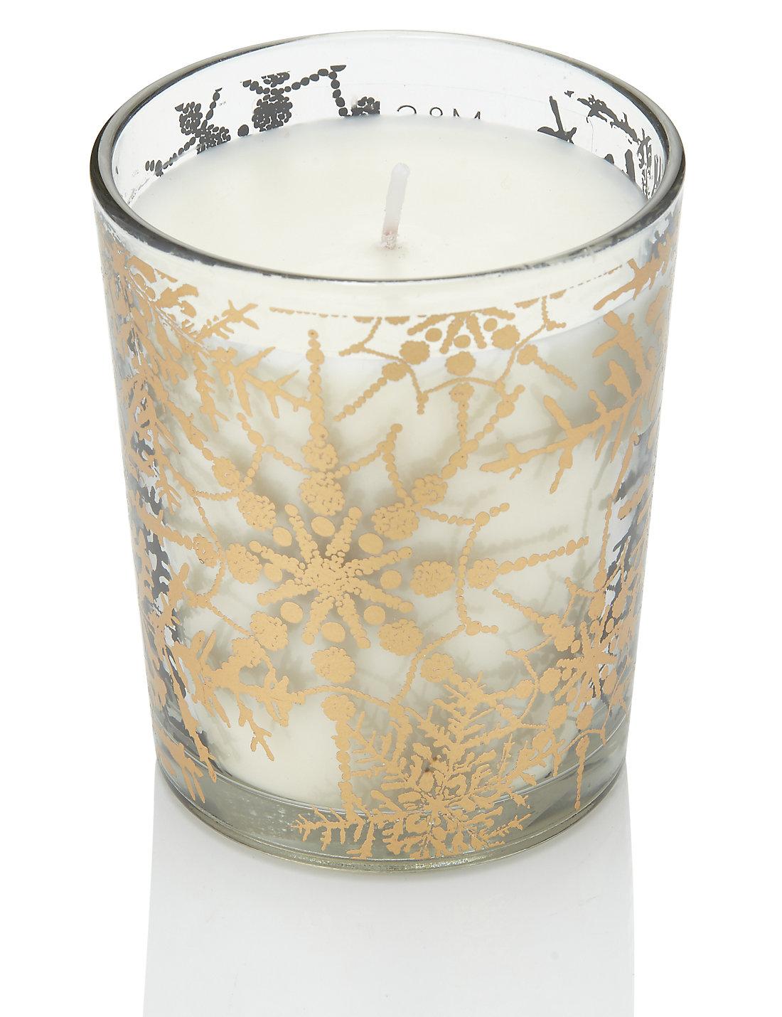 Frankincense & Myrrh Scented Mercury Filled Candle   M&S