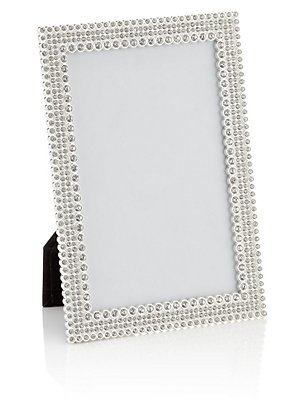 Natalie Diamanté Photo Frame 10 x 15cm (4 x 6inch), , catlanding